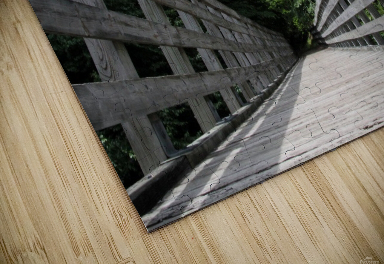 Rail to Trail HD Sublimation Metal print