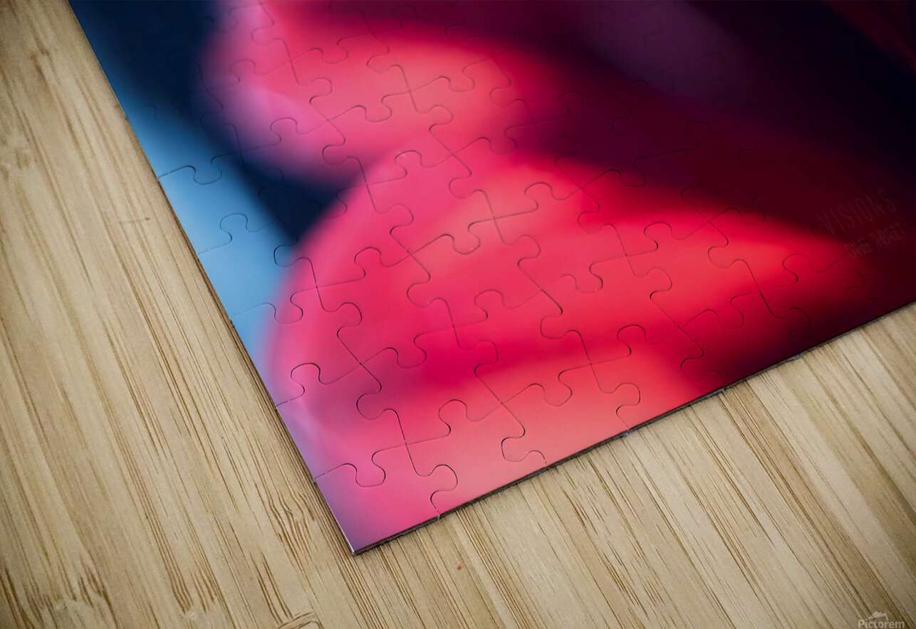 Red 1 HD Sublimation Metal print