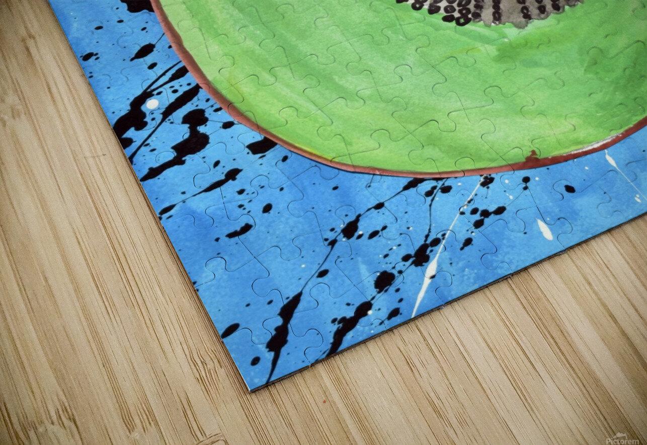 Kiwi Man. Michael D HD Sublimation Metal print