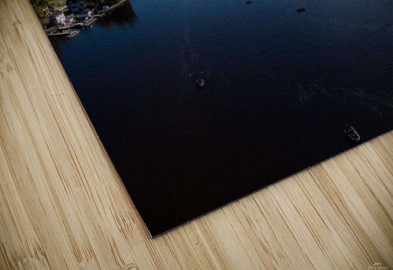 Bridges to Winneconne Impression de sublimation métal HD