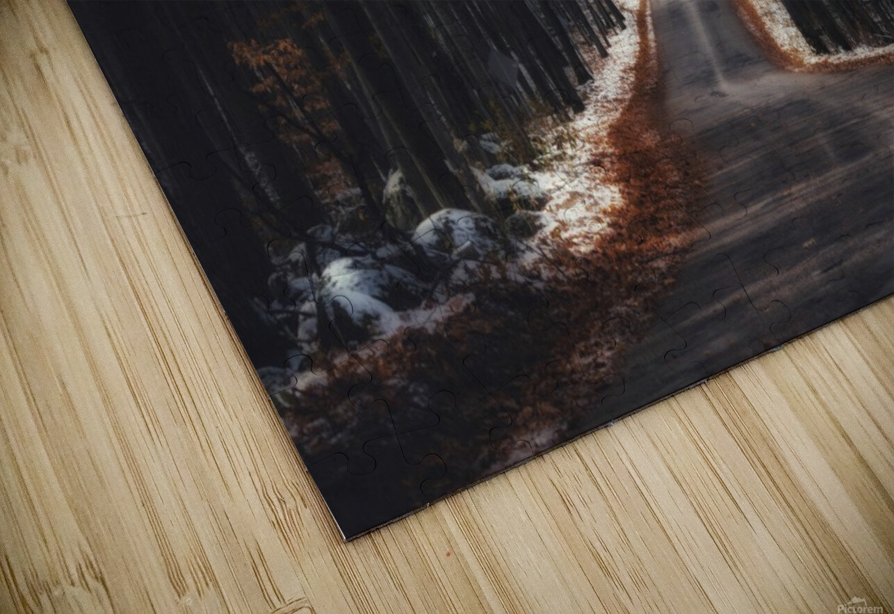 Tunnels HD Sublimation Metal print