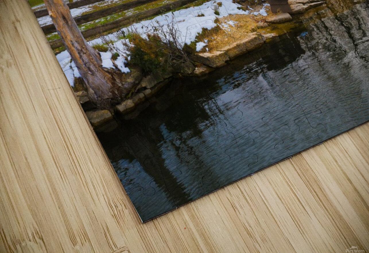 Bench On The Quarry Impression de sublimation métal HD