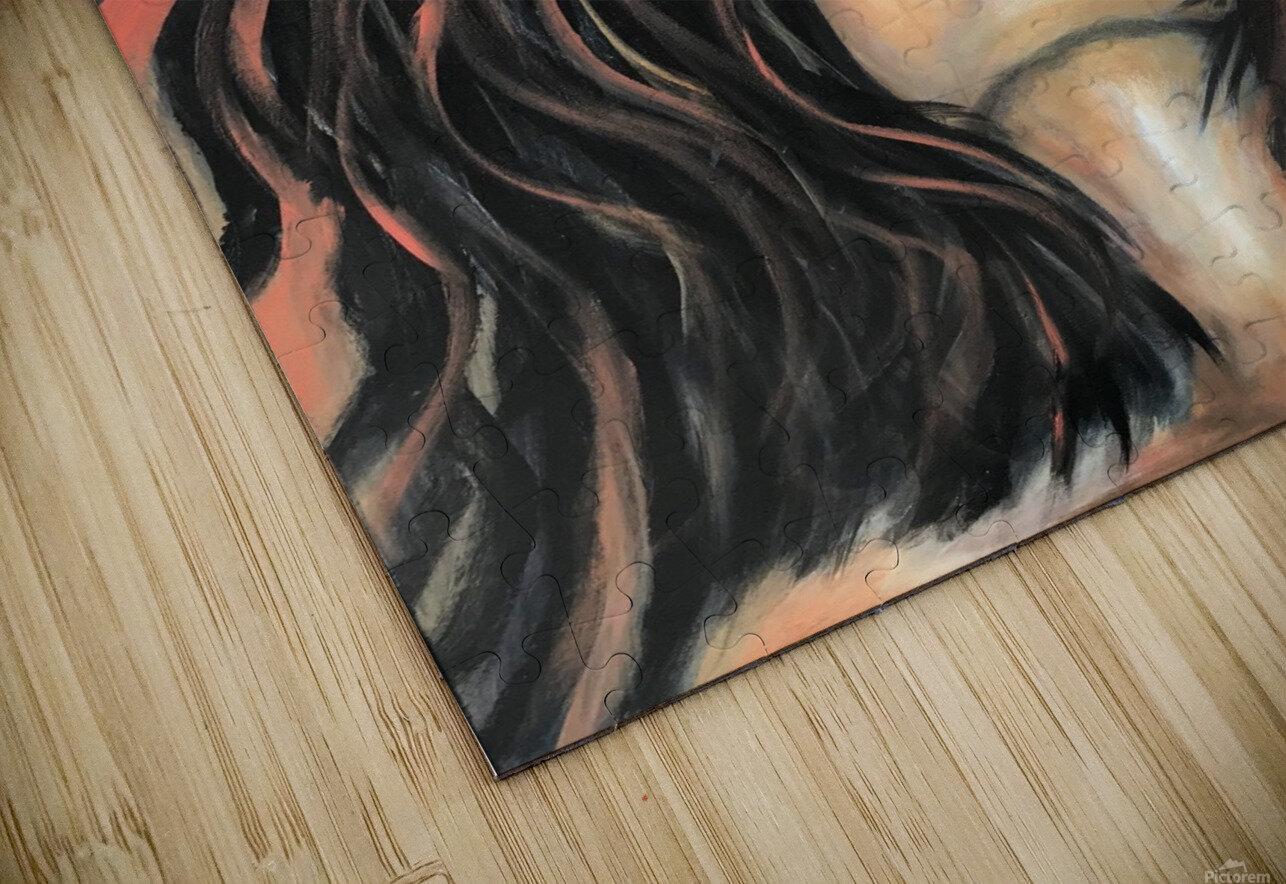 La Femme Zen HD Sublimation Metal print