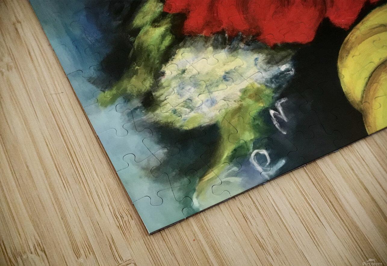 Des Fleurs pour Nathalie HD Sublimation Metal print