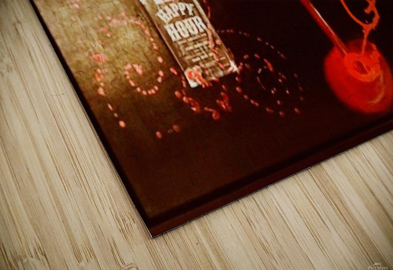Happy Hour HD Sublimation Metal print