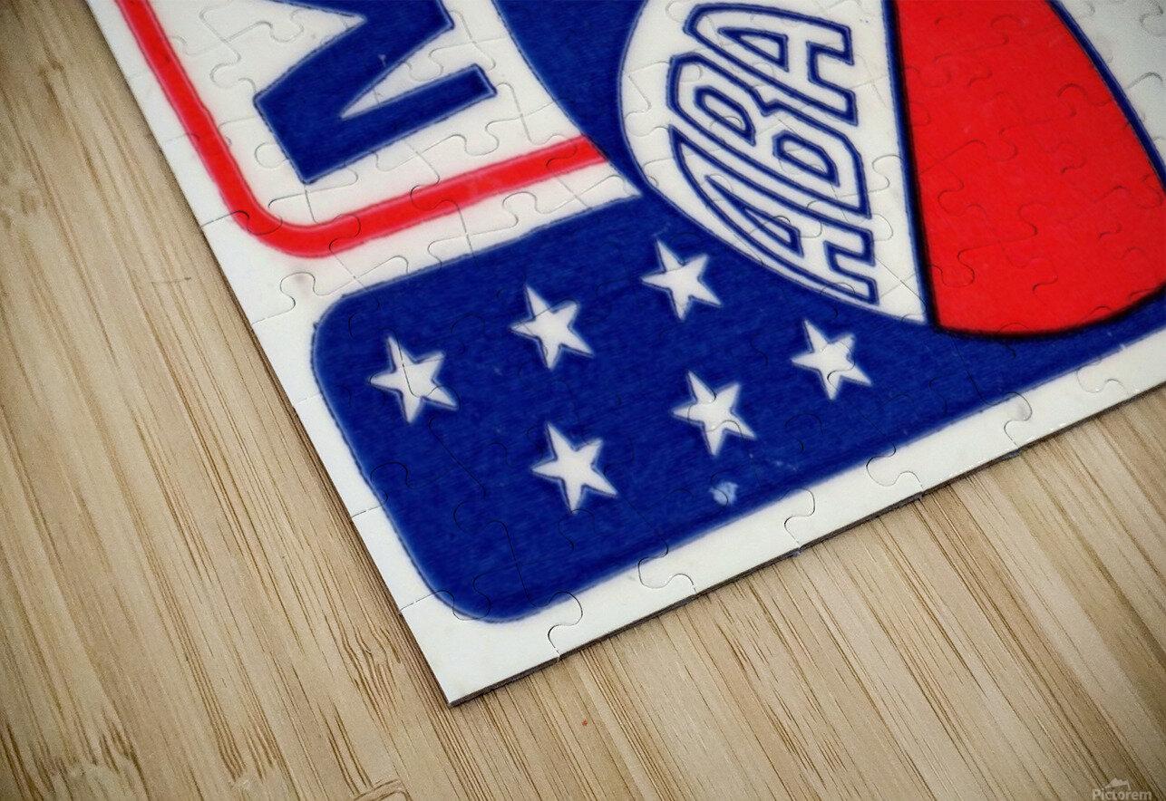 1971_American Basketball Association_Memphis Pros_Row One Brand HD Sublimation Metal print