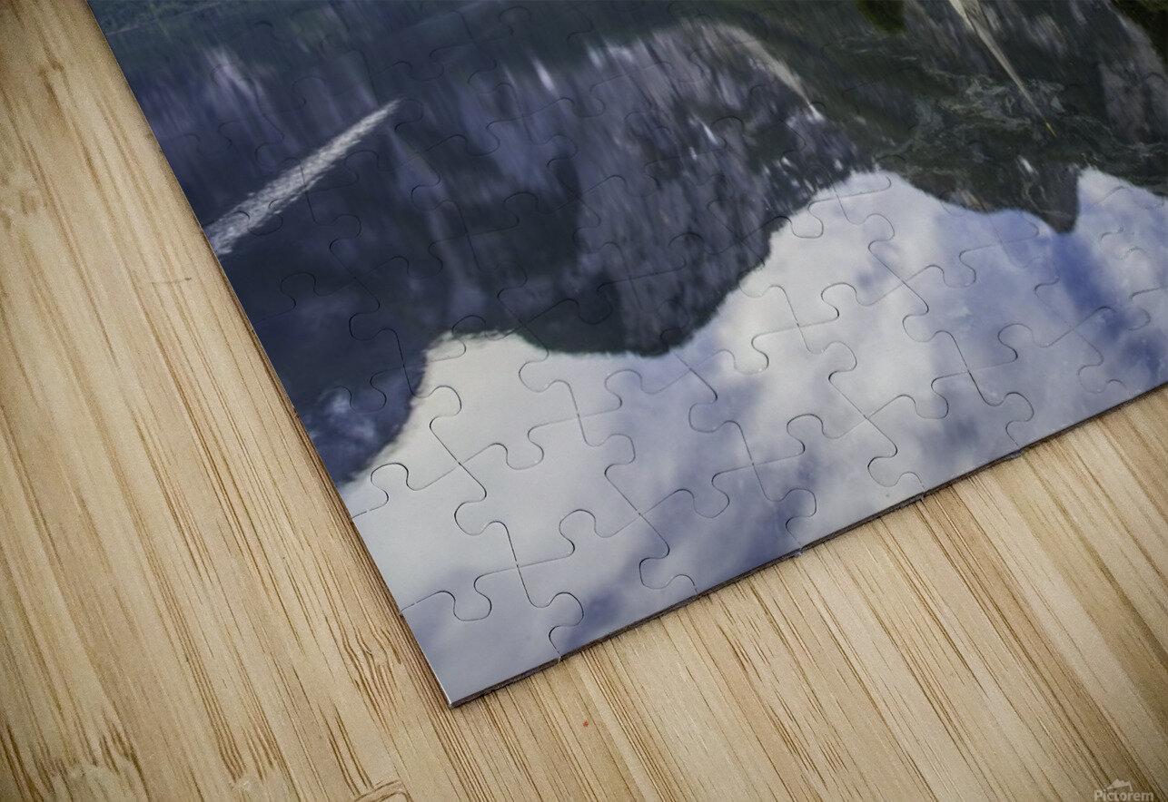 Hallstatt Sunrise HD Sublimation Metal print