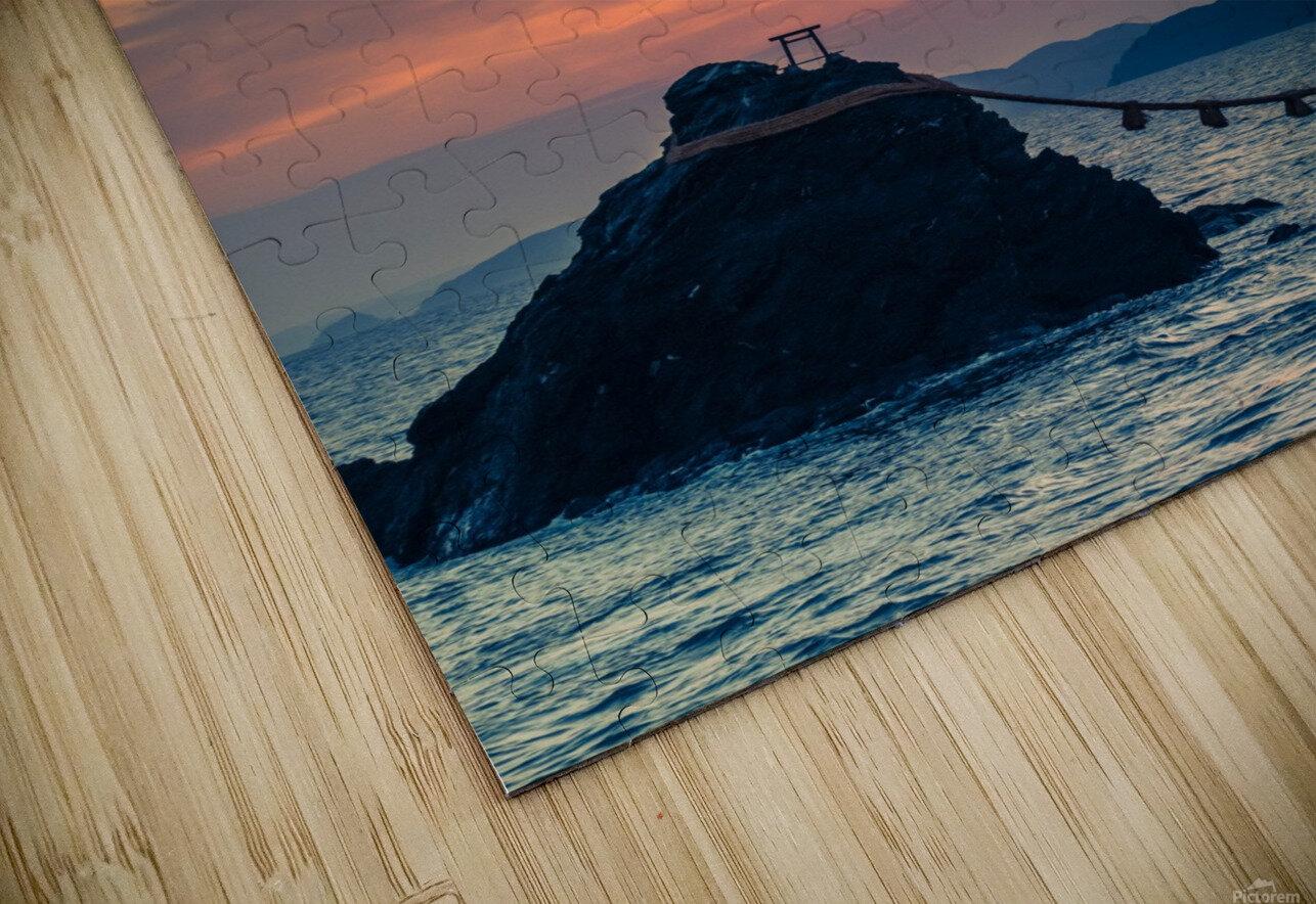 Meotoiwa HD Sublimation Metal print