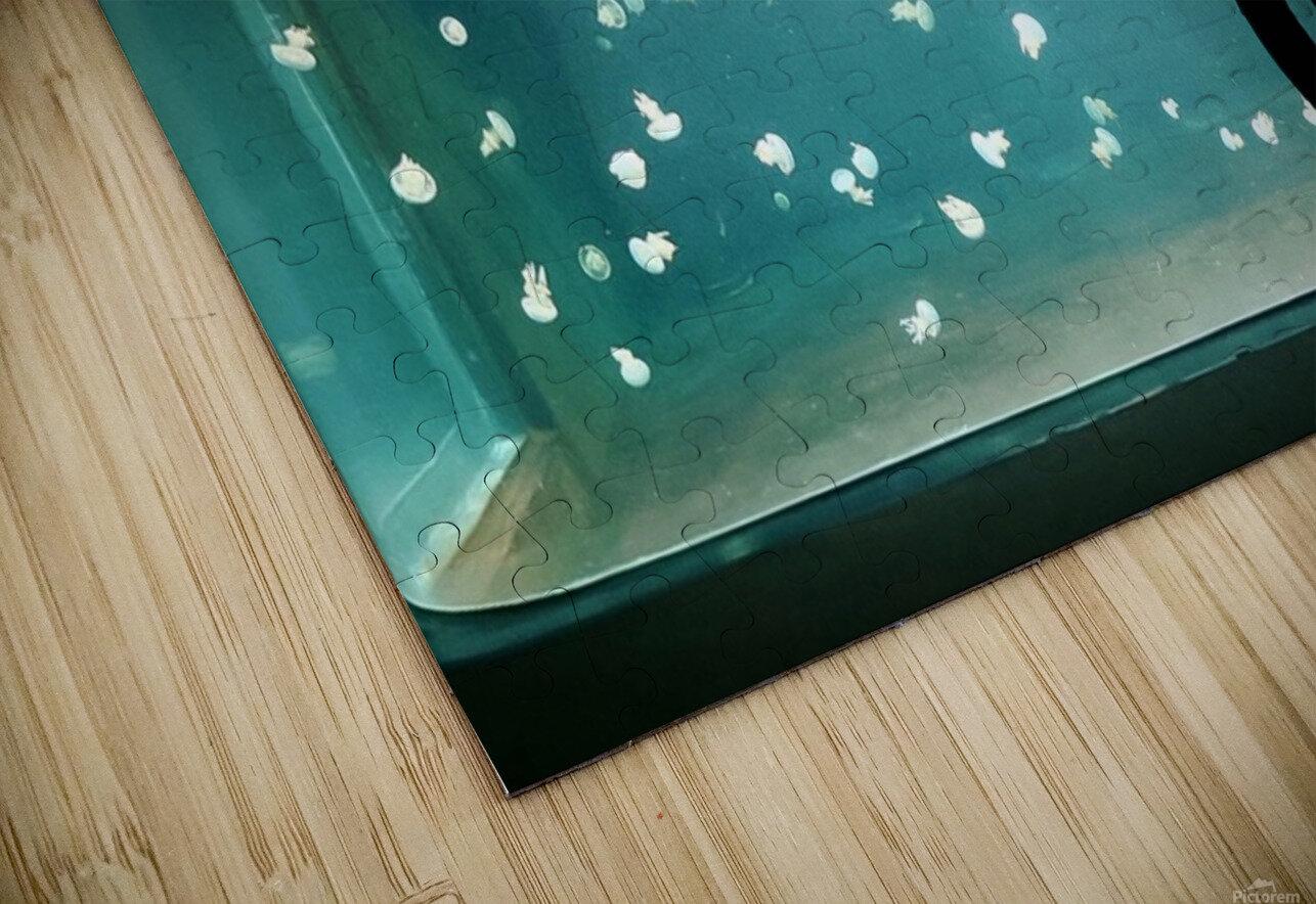 Aquarium HD Sublimation Metal print