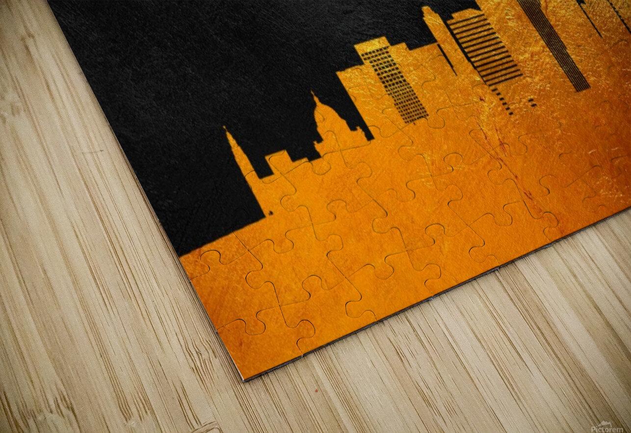Oklahoma City Oklahoma Skyline Wall Art HD Sublimation Metal print