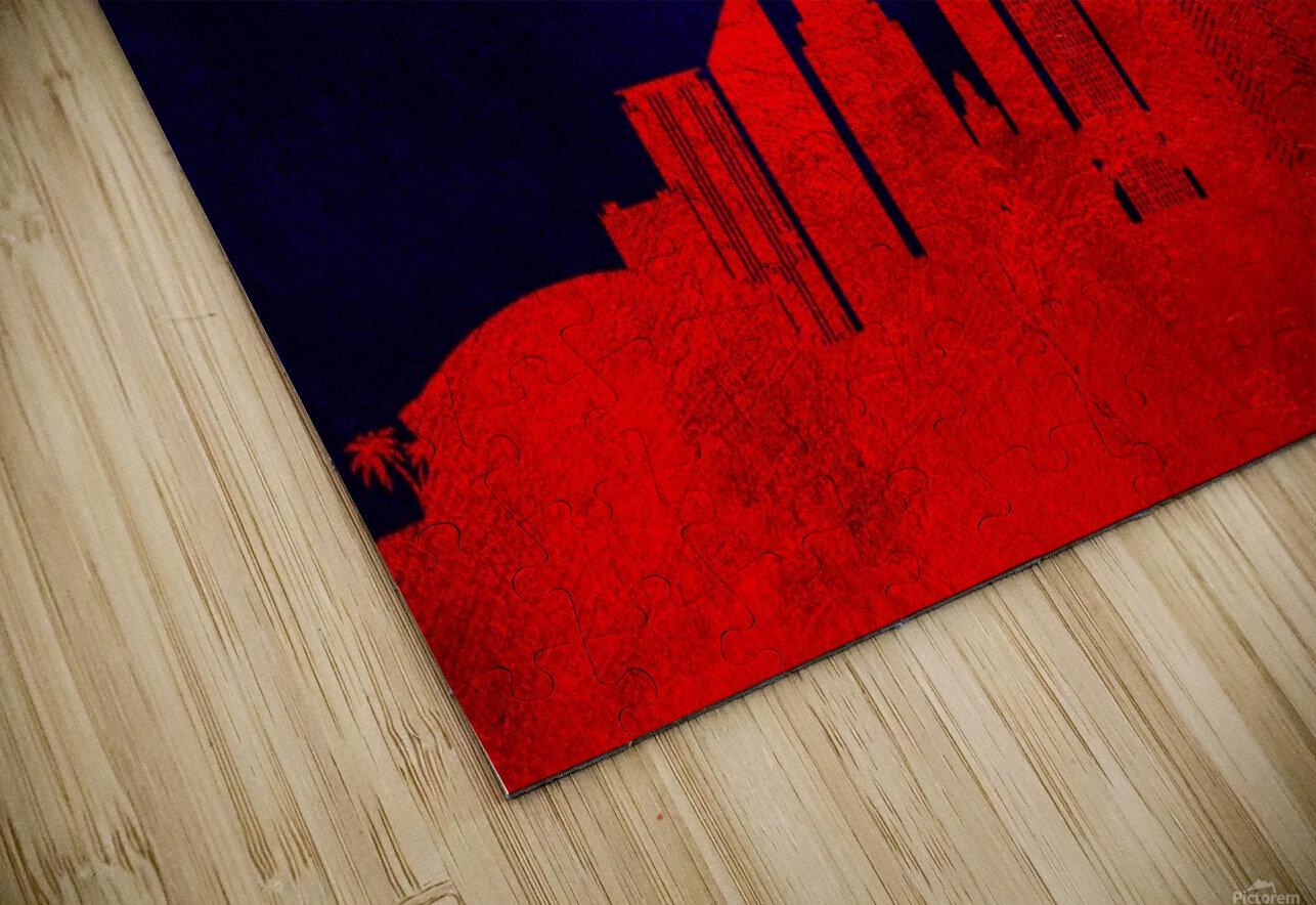 New Orleans Louisiana Skyline Wall Art HD Sublimation Metal print
