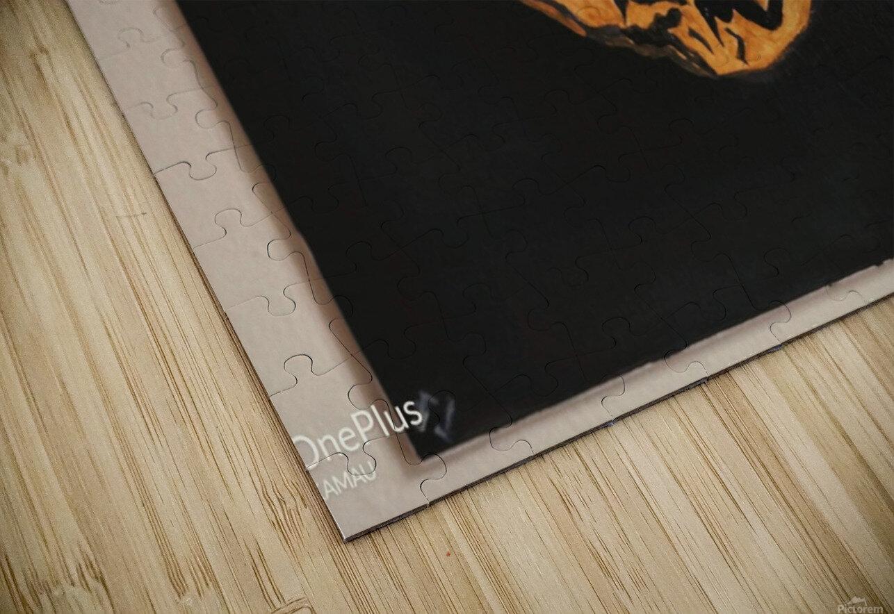 Tiger Face HD Sublimation Metal print
