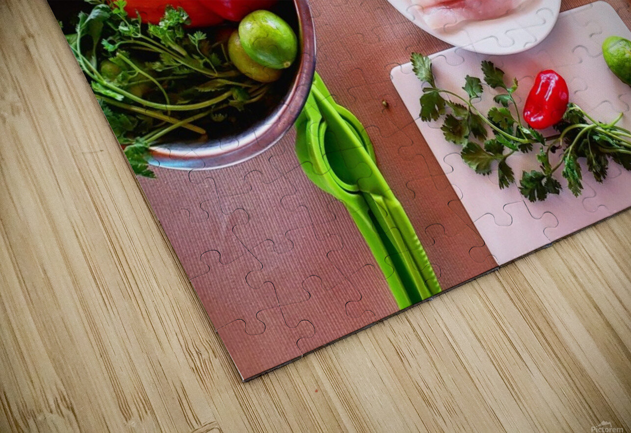 Ceviche  HD Sublimation Metal print