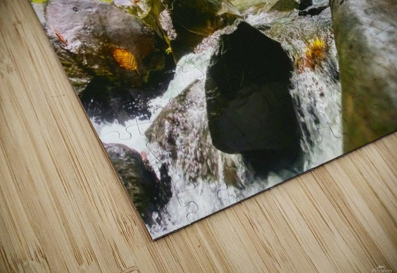 La Fortuna Waterfall  HD Sublimation Metal print