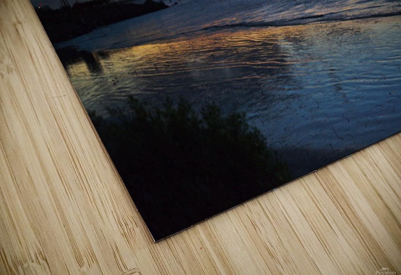 Sunrise Full Frame HD Sublimation Metal print