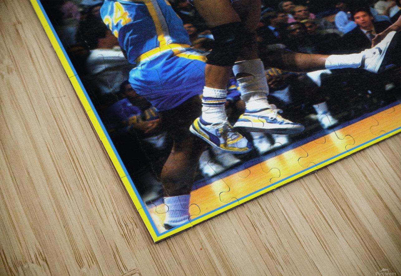 1986 UCLA Bruins Basketball Reggie Miller Poster HD Sublimation Metal print