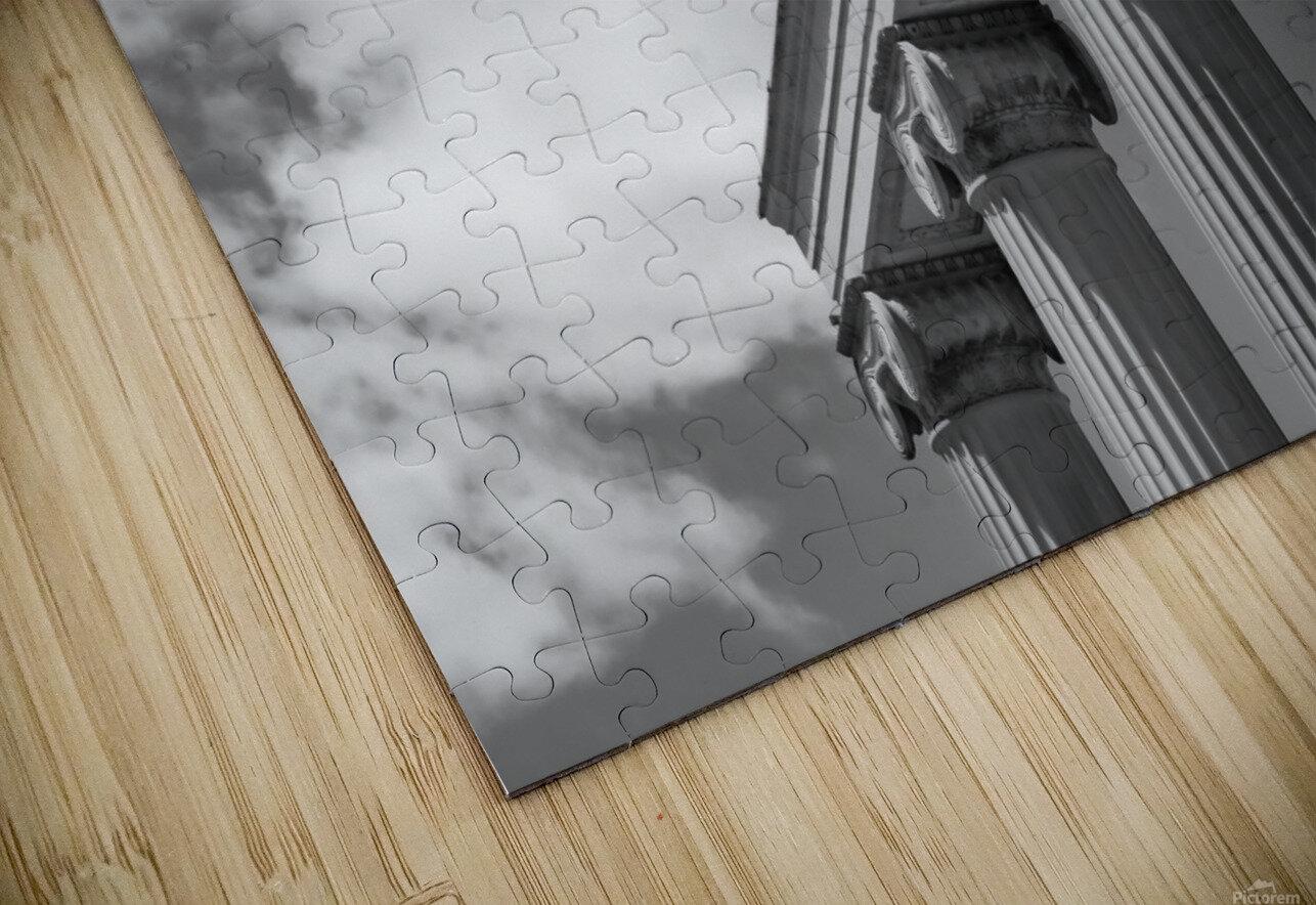 KIng West Columns HD Sublimation Metal print