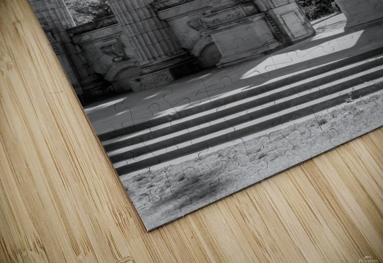 Waiting for Alexander HD Sublimation Metal print