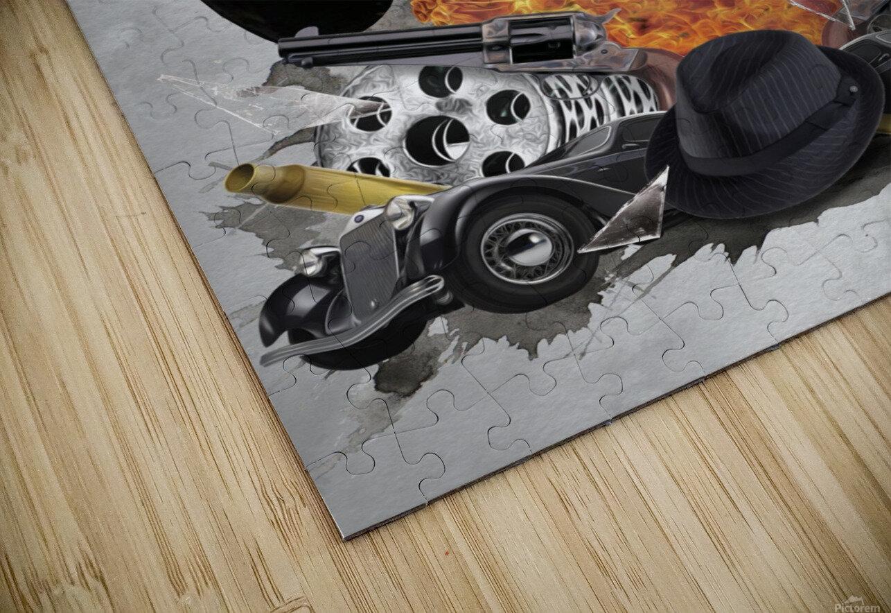 Vito Corleone HD Sublimation Metal print