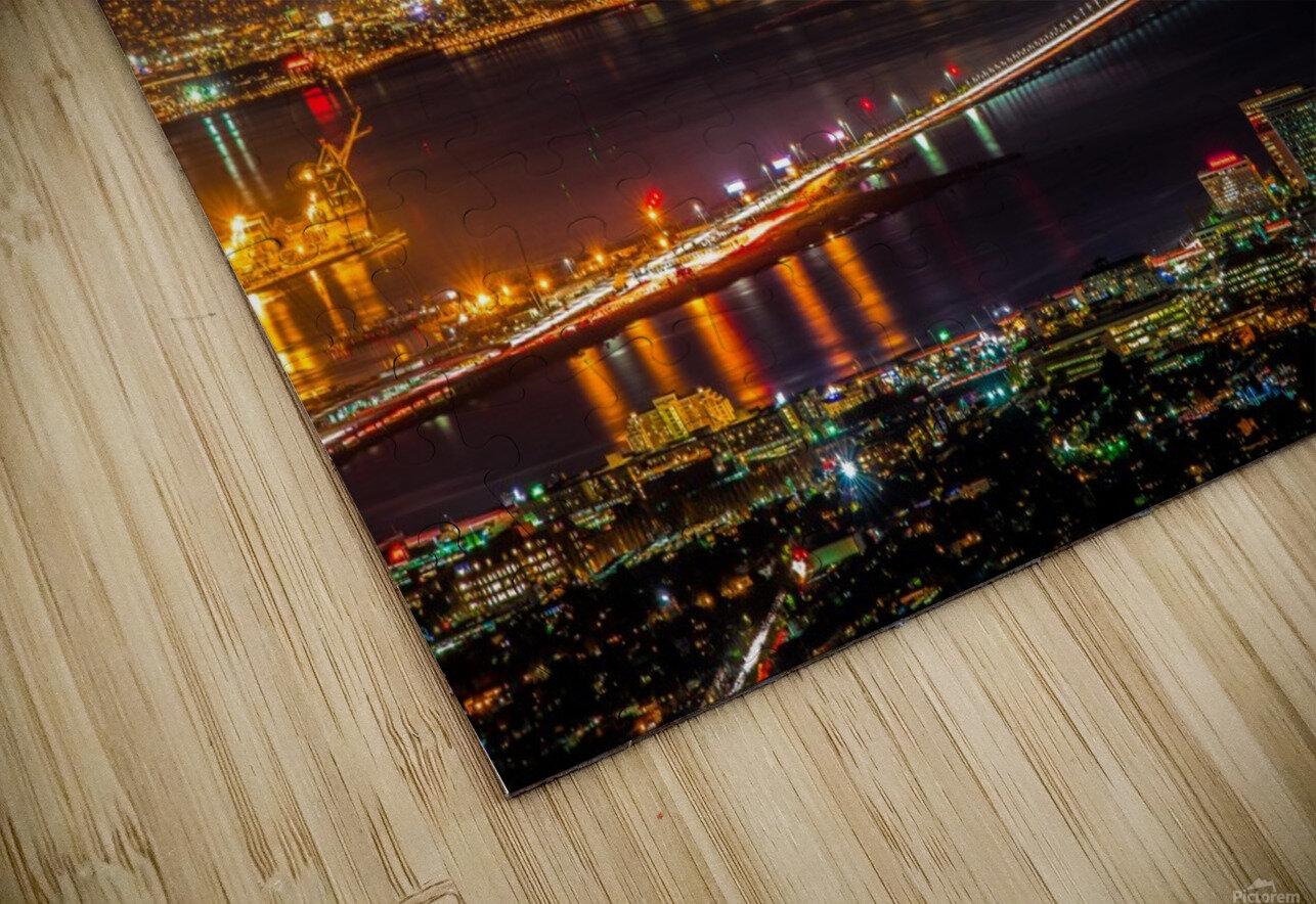City to City - Berkeley to San Francisco HD Sublimation Metal print
