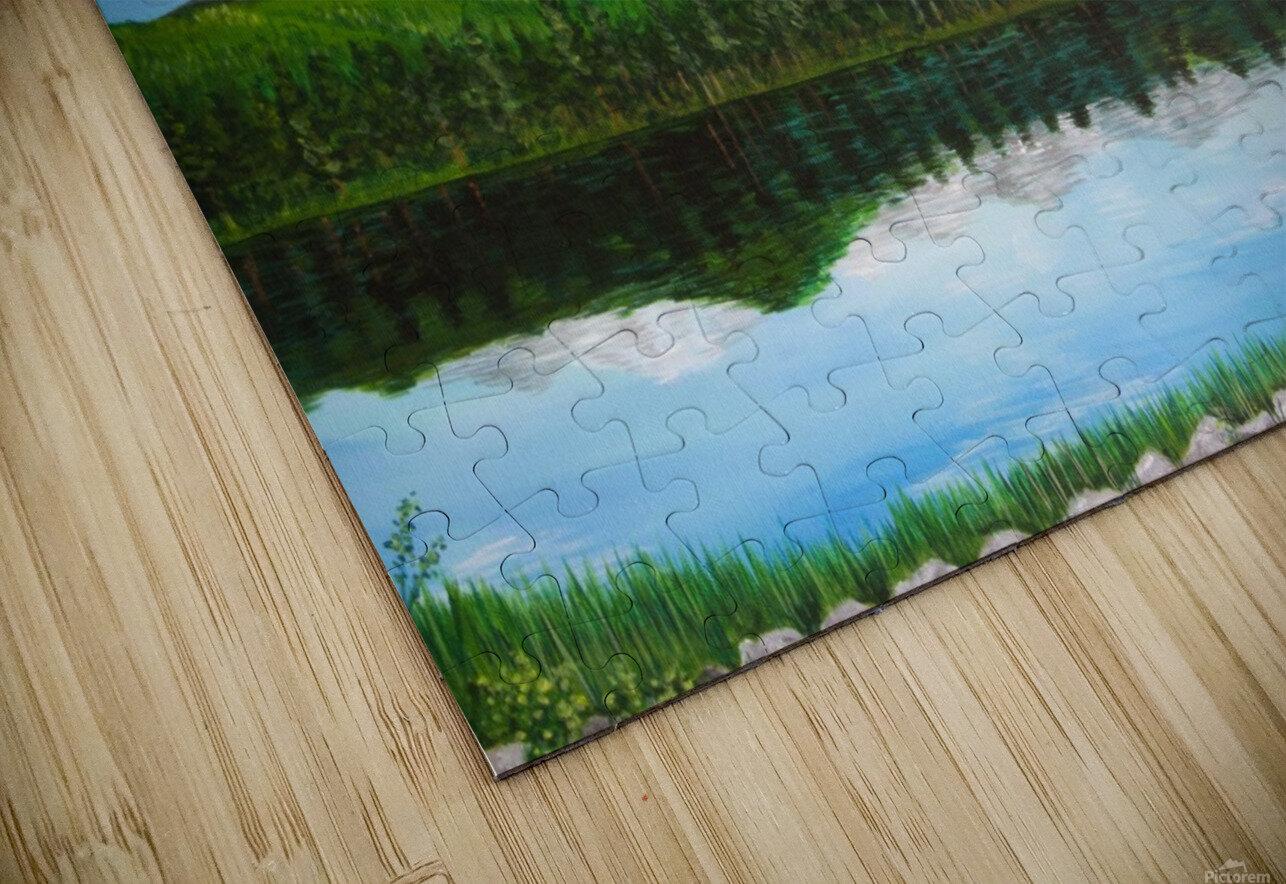 Sprague Lake CO HD Sublimation Metal print