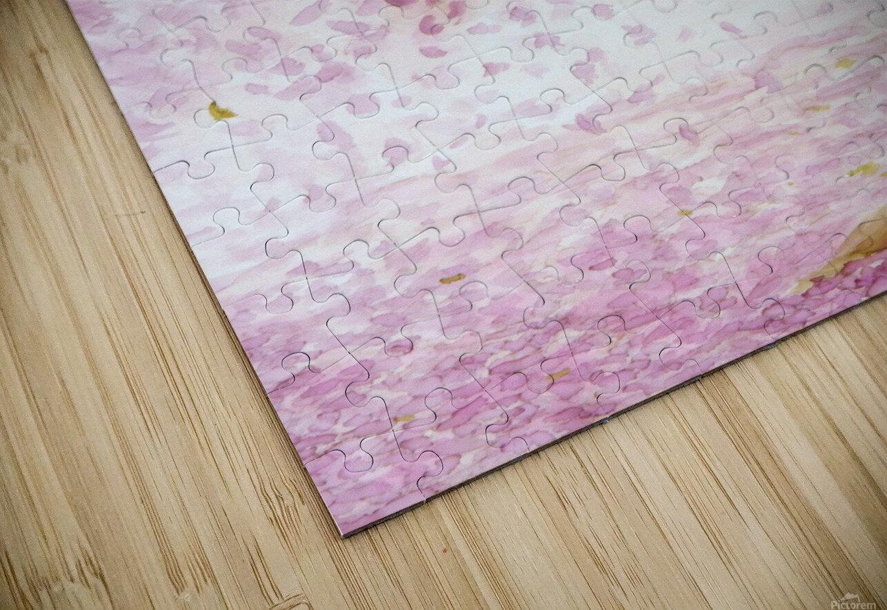 Cherry blossom HD Sublimation Metal print