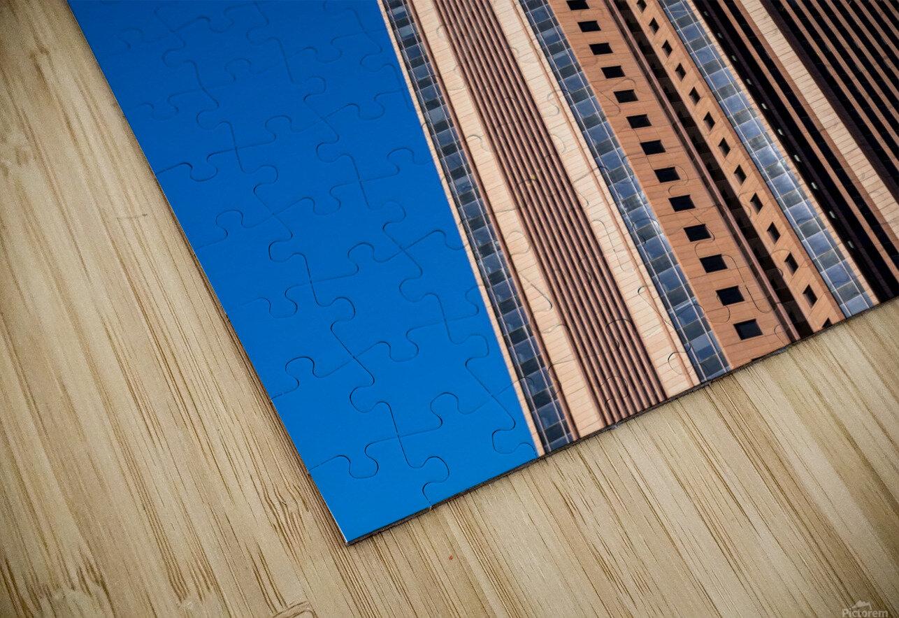 Bank of America Building   Atlanta GA 6630 HD Sublimation Metal print