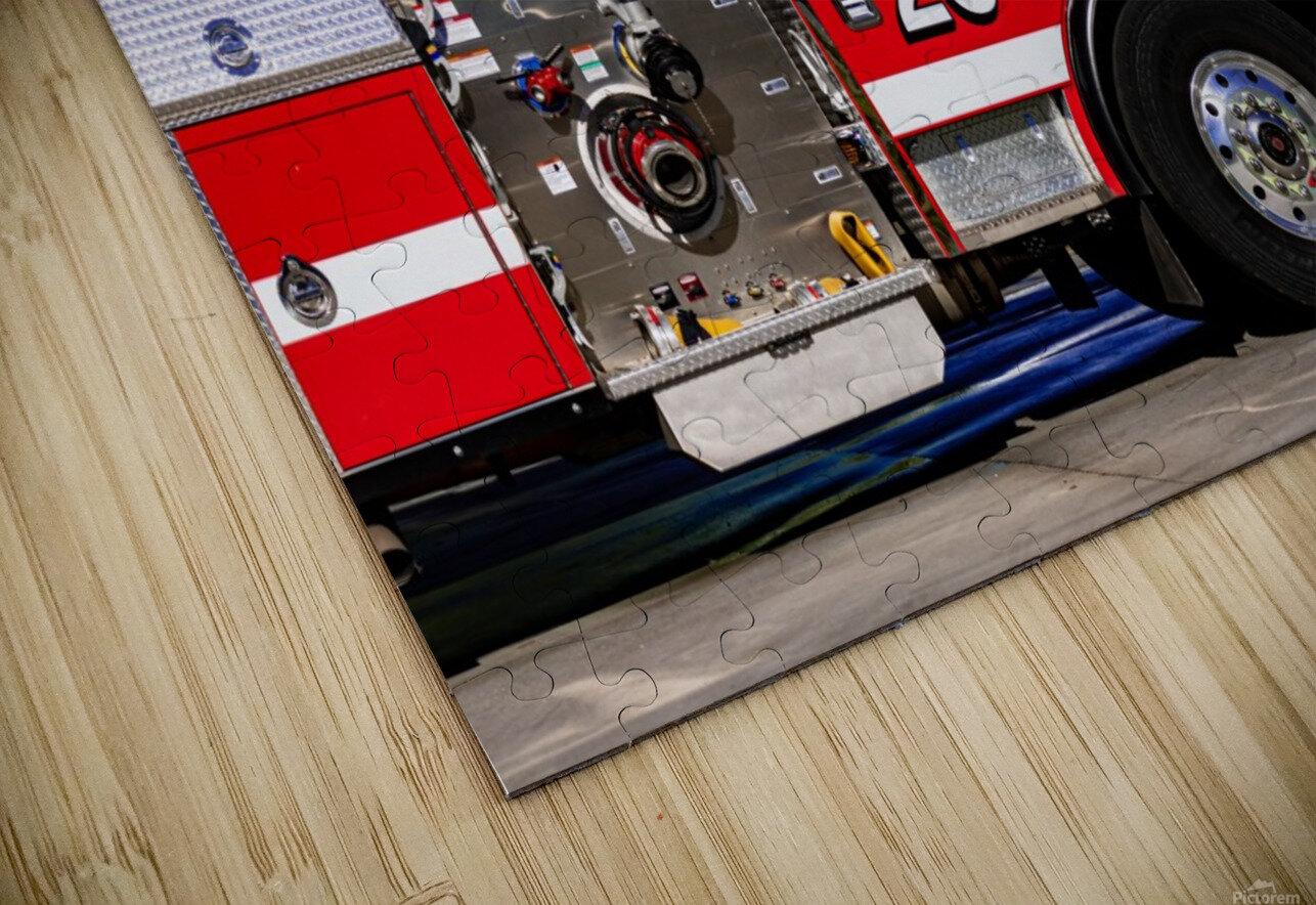 City of Atlanta Fire Engine No 29 6665 HD Sublimation Metal print