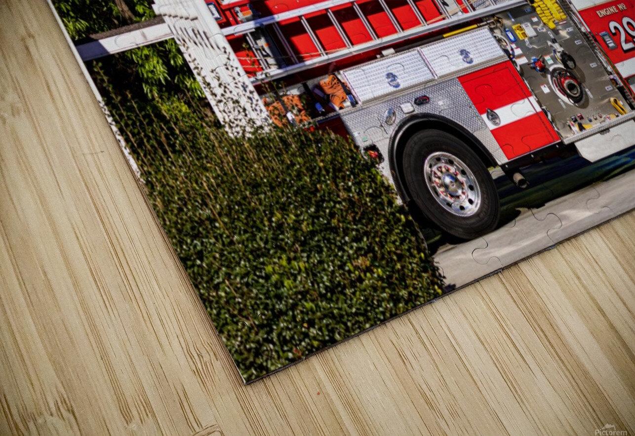 City of Atlanta Fire Engine No 29 6648 HD Sublimation Metal print