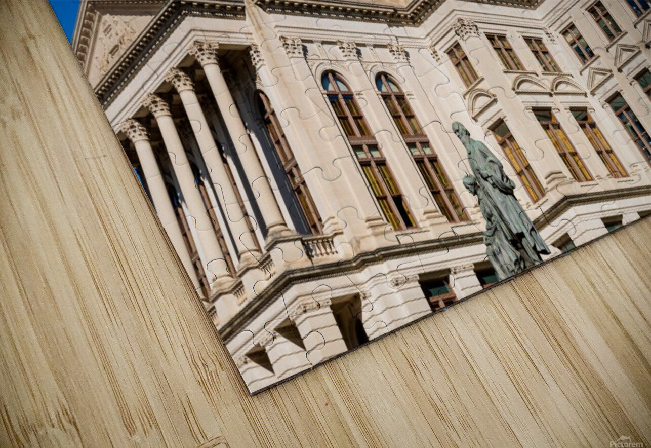 Georgia State Capitol Building   Atlanta GA 7220 HD Sublimation Metal print