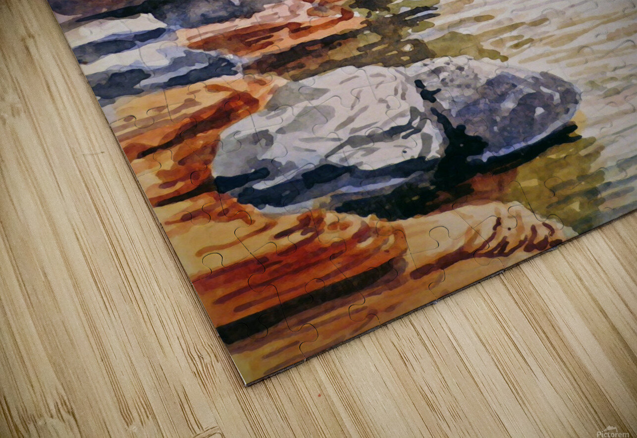 Sedona Arizona Slide Creek HD Sublimation Metal print