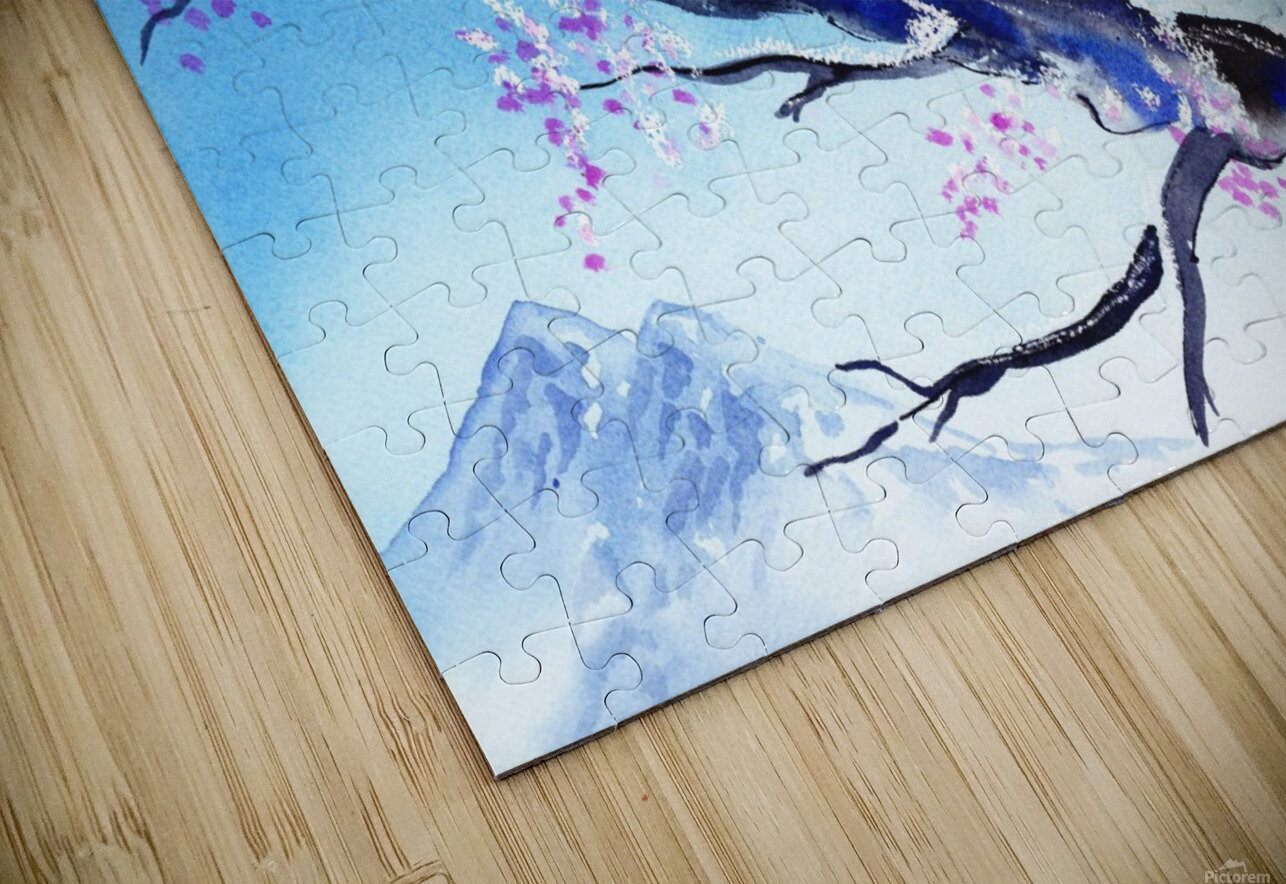 Spring In The Mountains HD Sublimation Metal print