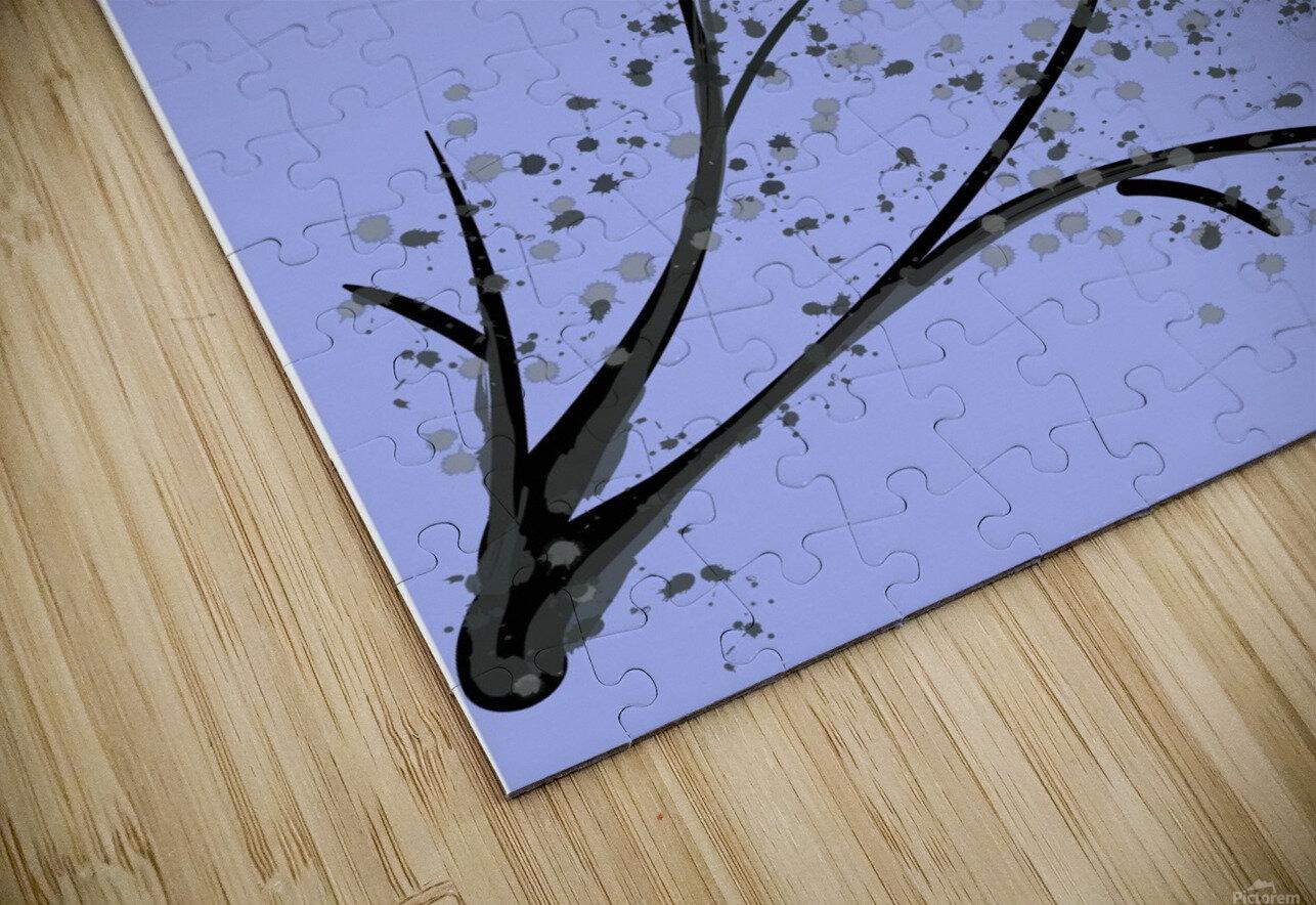 watercolor tree HD Sublimation Metal print
