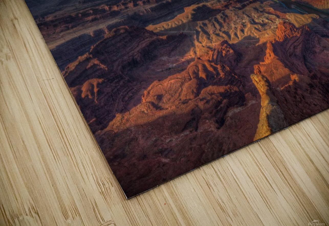 SUNRISE OVER DEAD HORSE CANYON-UTAH-6 HD Sublimation Metal print