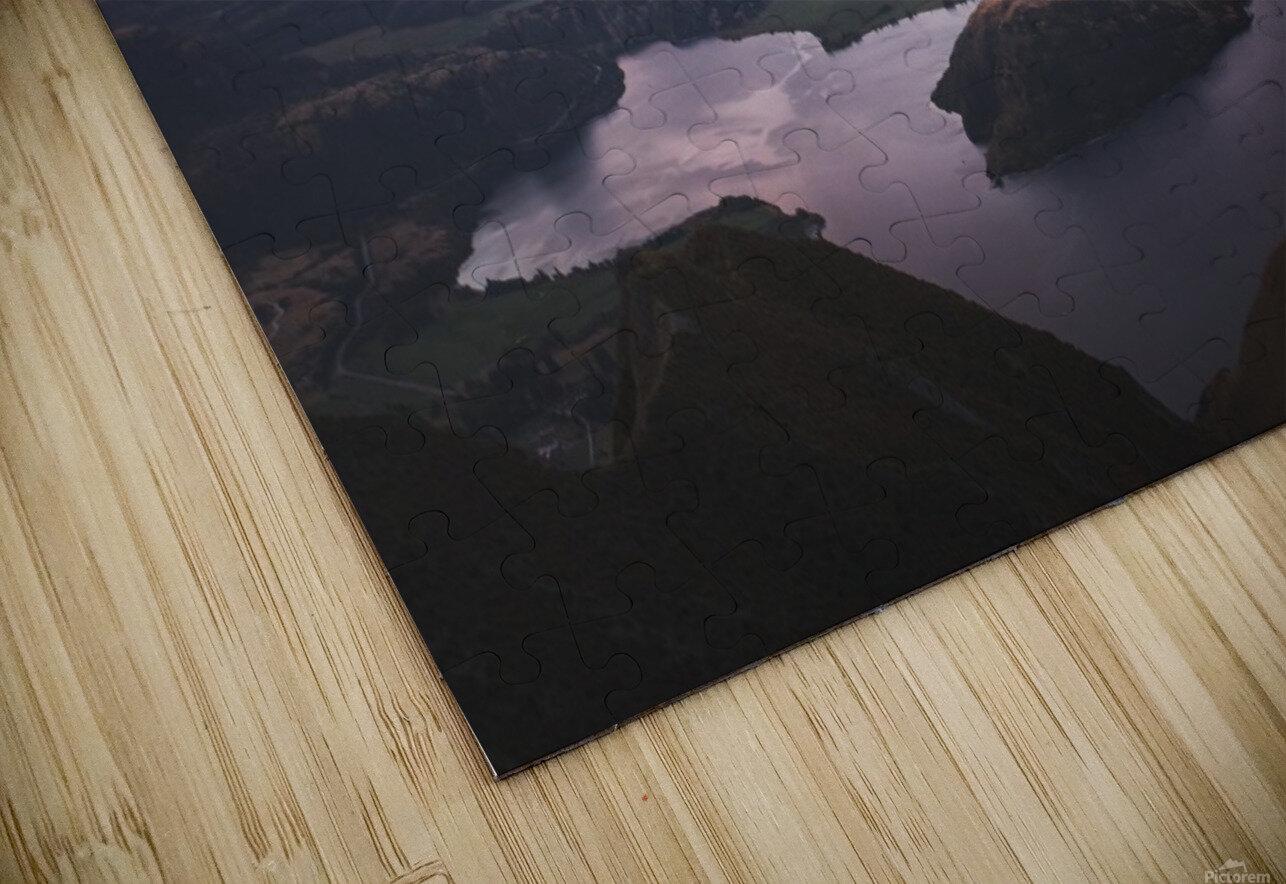 Tititea Mount Aspiring HD Sublimation Metal print