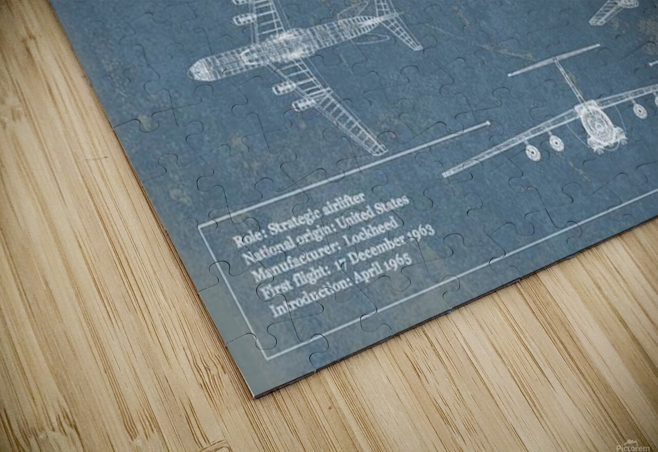 starlifter HD Sublimation Metal print