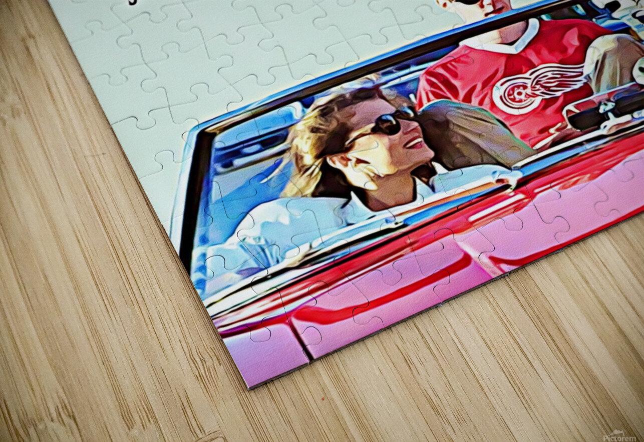 Ferris Bueller Day Off HD Sublimation Metal print