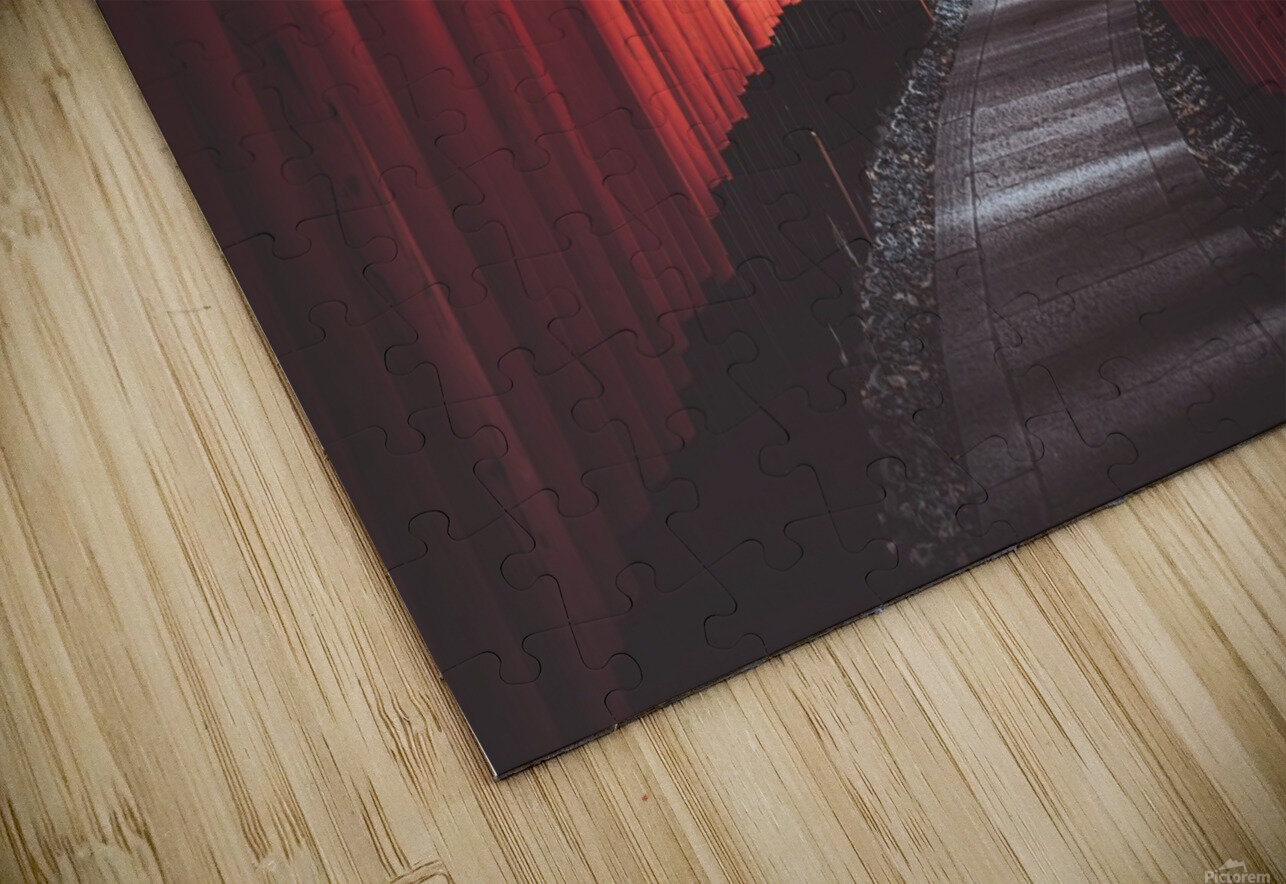 Fushimi red HD Sublimation Metal print