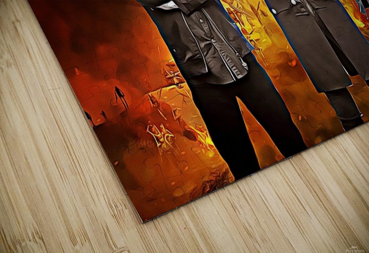 Motorhead HD Sublimation Metal print