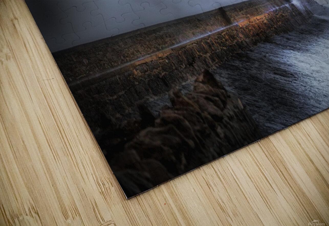 Hurricane Ophelia at Porthcawl HD Sublimation Metal print