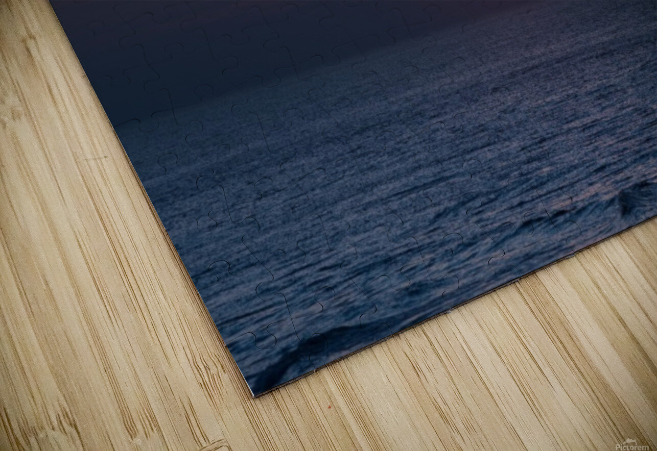 Sea lamp HD Sublimation Metal print