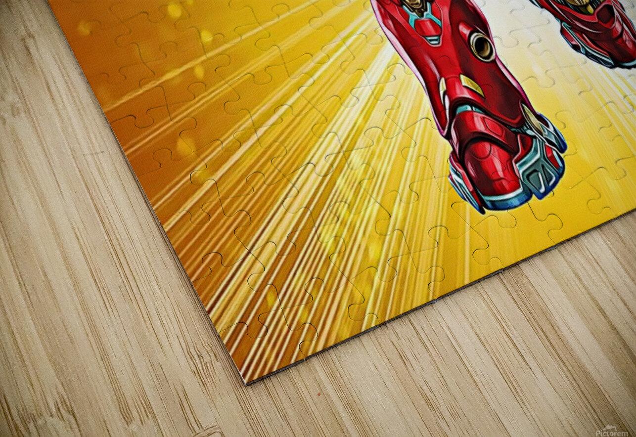 Ironman Hulkbuster HD Sublimation Metal print