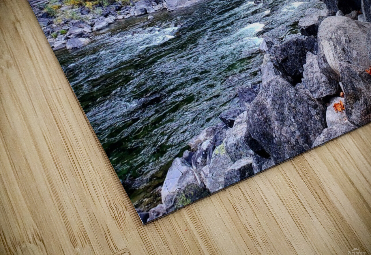 Old Pipeline Bed Trail HD Sublimation Metal print