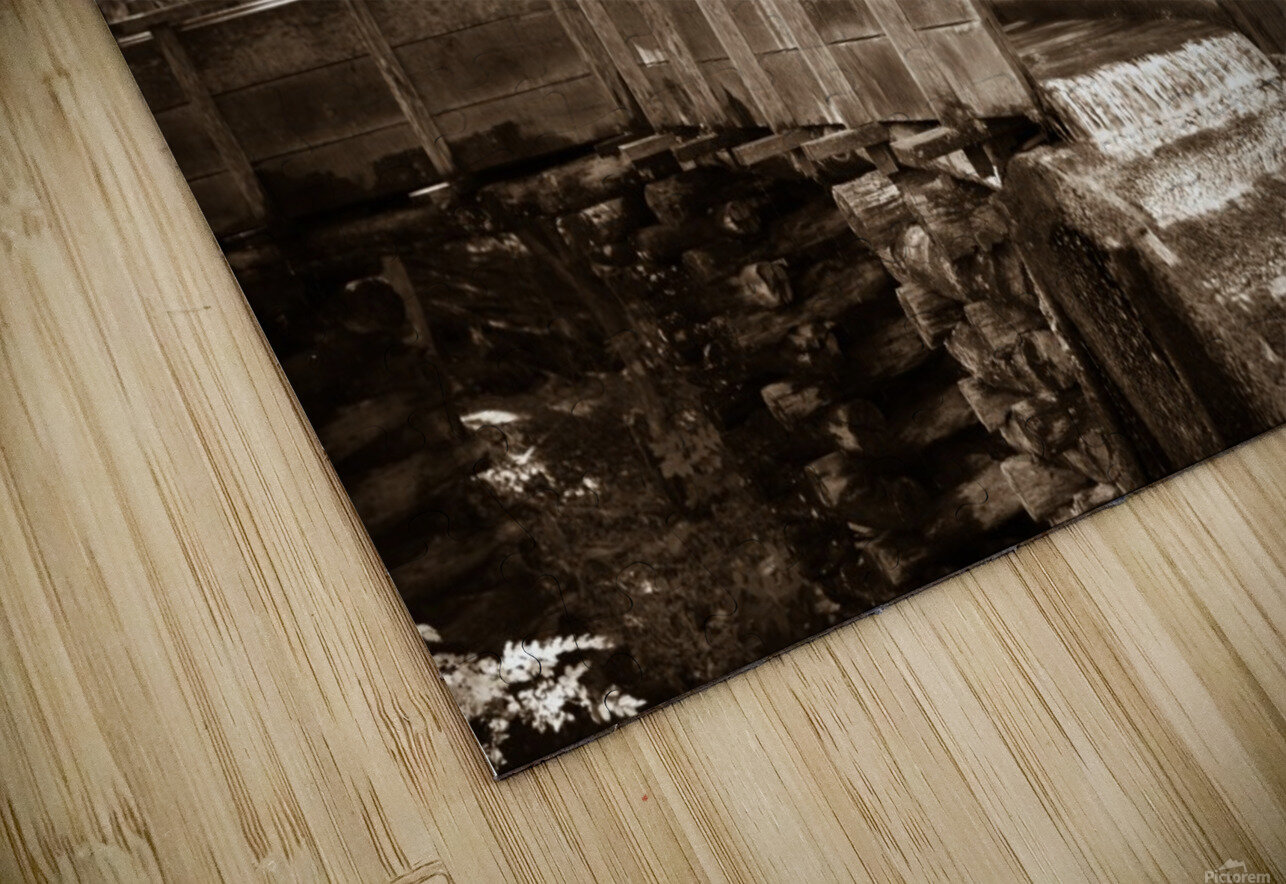 The John Cable Grist Mill HD Sublimation Metal print