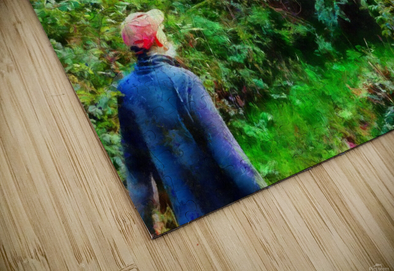 A Walk In The Countryside HD Sublimation Metal print