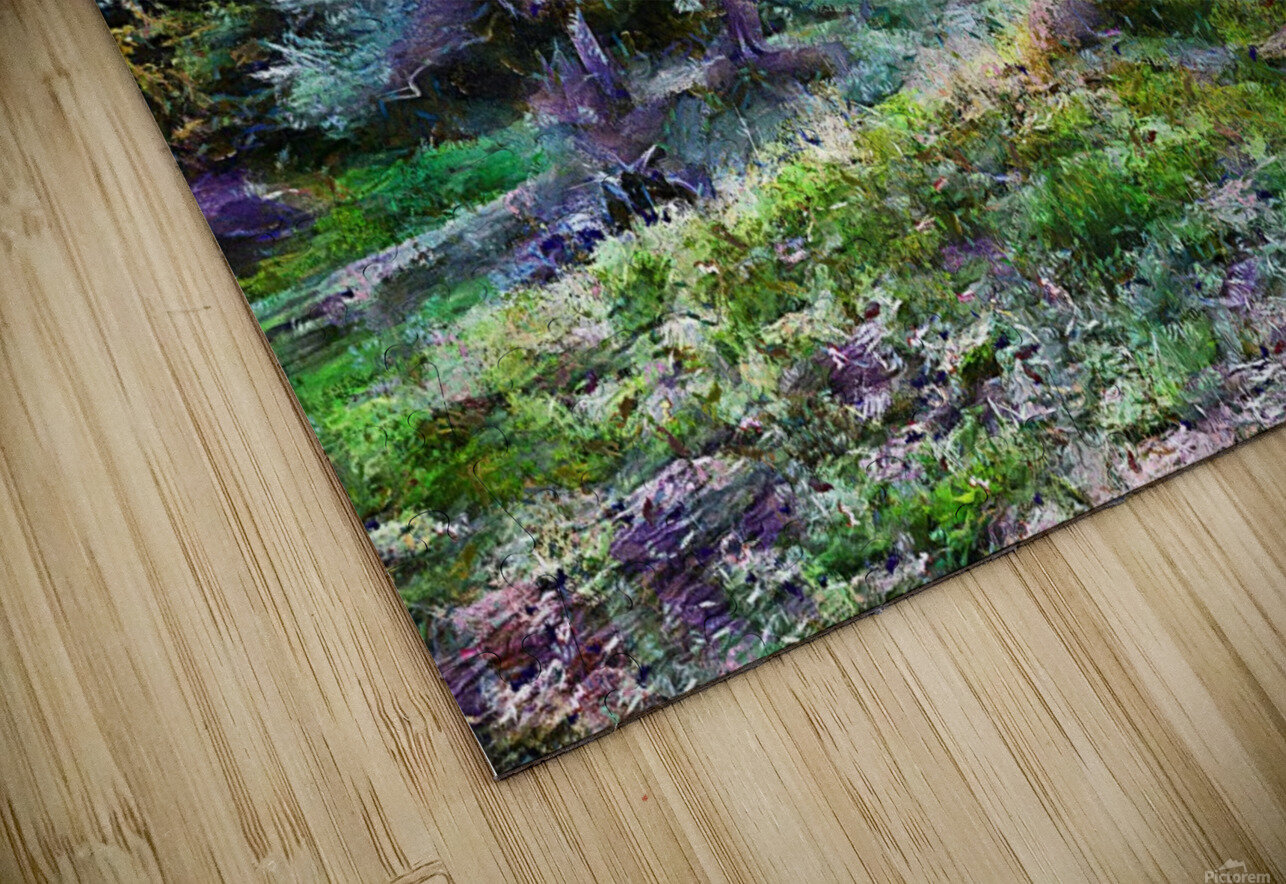 Colorful Olive Grove HD Sublimation Metal print