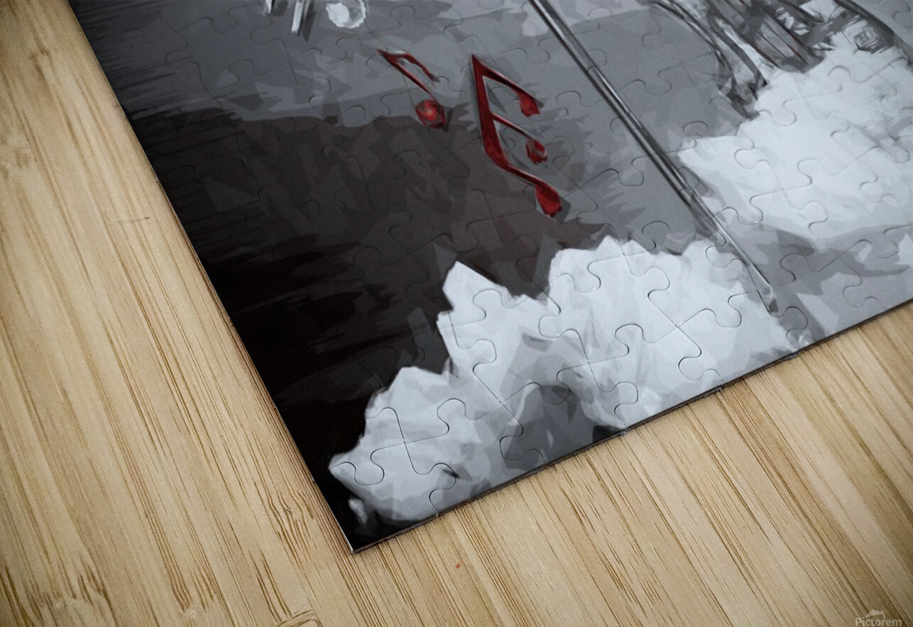 heavenly music HD Sublimation Metal print