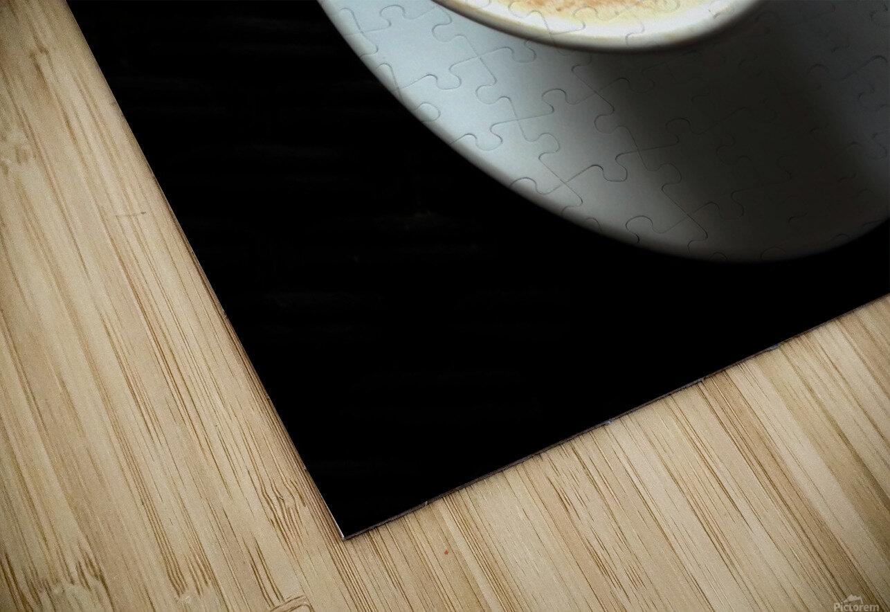 Uno Cappuccino HD Sublimation Metal print