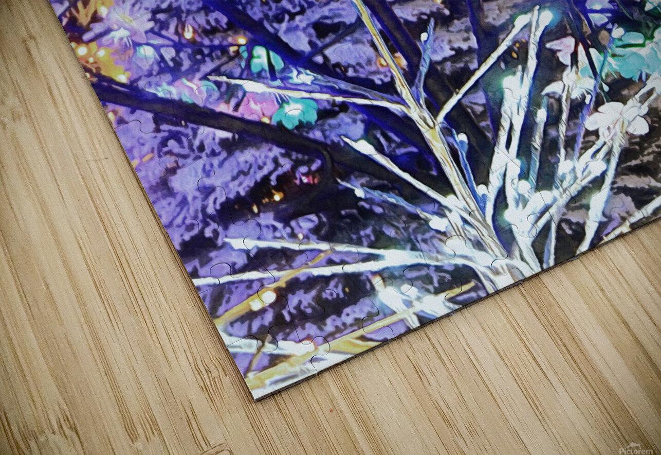 Christmas Lights 5 HD Sublimation Metal print