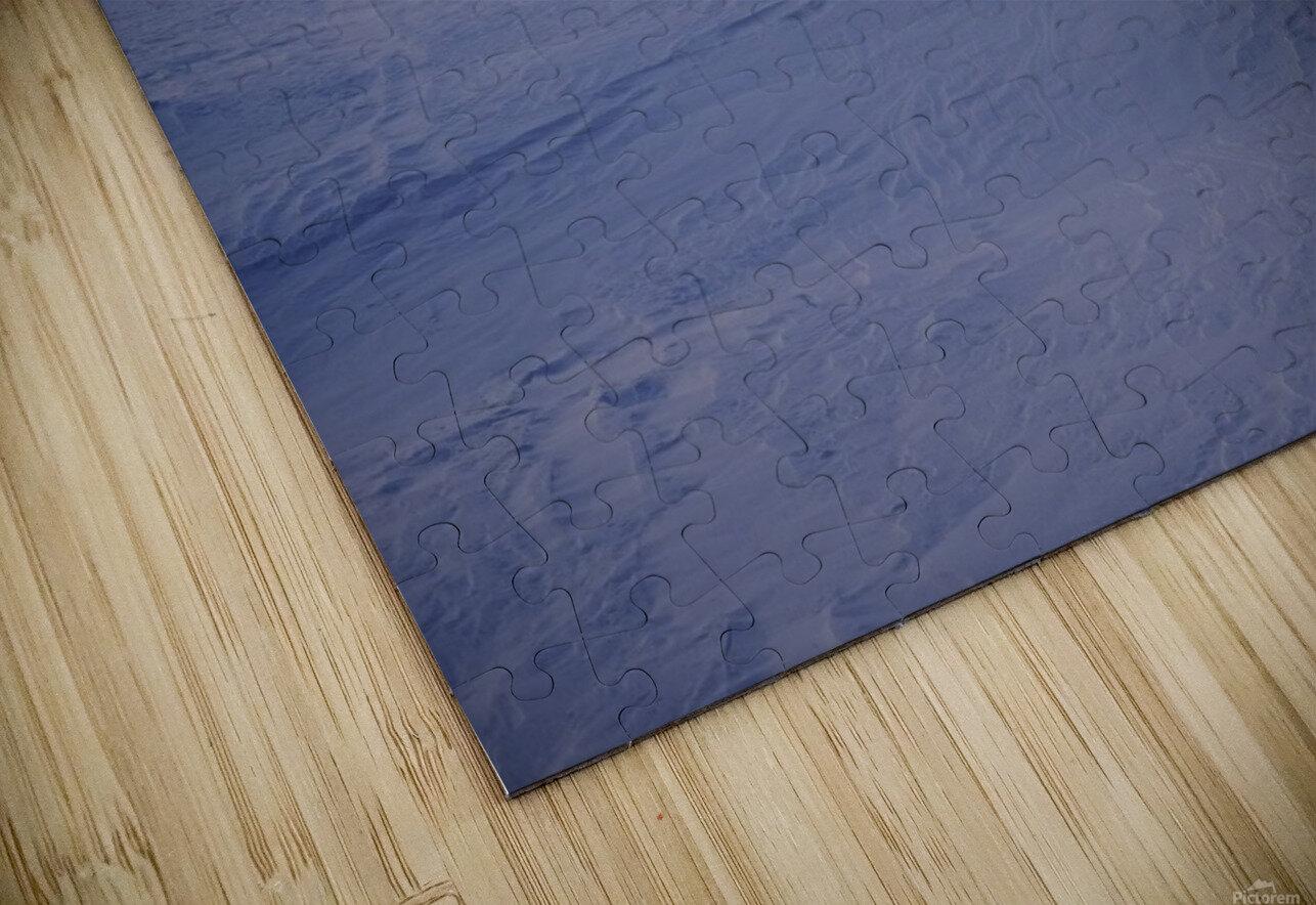 Heure bleue Impression de sublimation métal HD